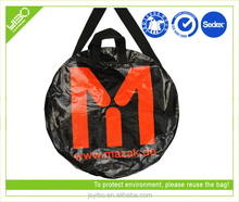 Foldable reusable custom plastic market packaging shopping bag