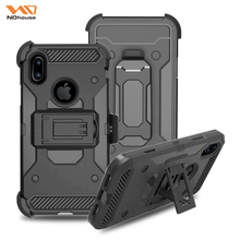 Kickstand case for iphone 8 tpu pc phone case with kickstand