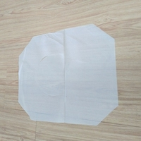 1/2 fold disposable toilet seat cover