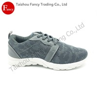 Hot Sale New Fashion Customized Mesh Grey Sport 2014 Shoe Woman Shoe