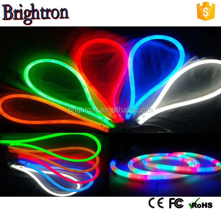 2016 New product 80leds/m.100led/m, 120led/m 14*26mm ,r,<strong>g</strong>,b,o,p,y,rgb color led neon light