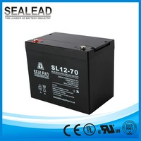 High capacity 12v 70ah solar energy storage battery for solar street light