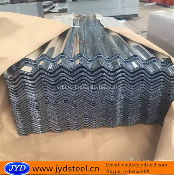 GI curved roof sheet materials