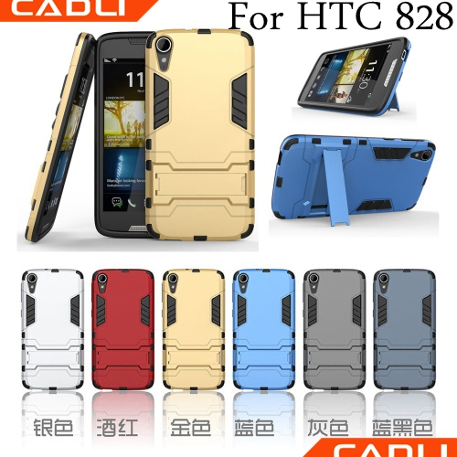 Transformers Creative Kickstand Case Cover mobile phone case card holder wallet custom flip case For HTC 828
