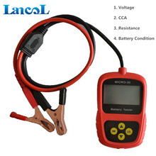 100% Original LANCOL Motorcycle Car Diagnostic Tool battery management systems battery lifeTester Analyzer MICRO-30