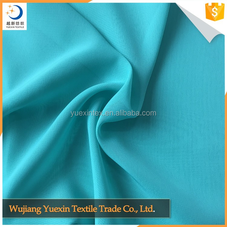 100D chiffon fabric for lady's dress