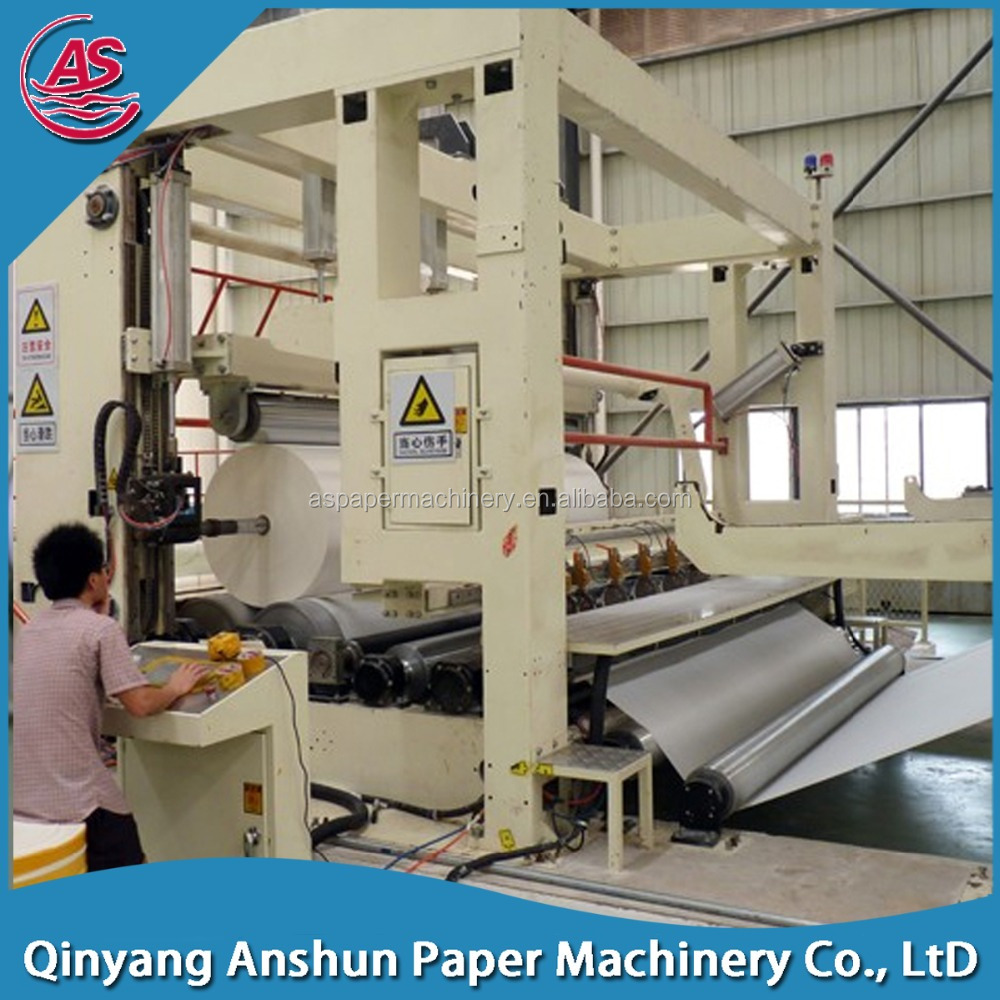 High Speed Fourdrinier Wire News Print Paper Recycling Making Machine