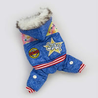 Dog Cat Clothes Pet Winter Apparel Large Dog Clothing Warm Coat Suitable Material