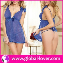 custom made women hot sexy image sheer mature babydoll lingerie