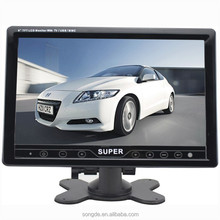 "Portable Touch Key 7"" 9"" tft lcd car monitor with stand alone and remote control"