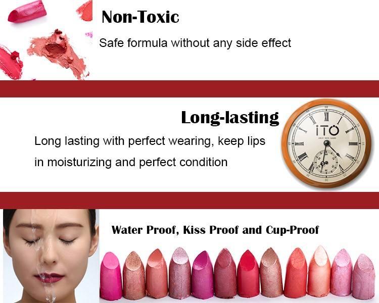 Guangzhou OEM Factory High Quality Kstimes No Logo Fashion Colors K005-K008 Private Label Matte Lipstick Makeup Cosmetics