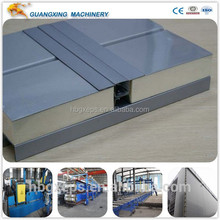 PU cement sandwich panel,machine for PU cement sandwich panel, light PU cement sandwich panel