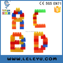 DIY plastic large building connector blocks toy for boys