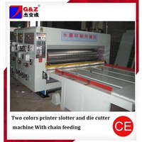 Auto 2 Colors Printing Machine/Multi-Function Paper Stacker Ink Printing