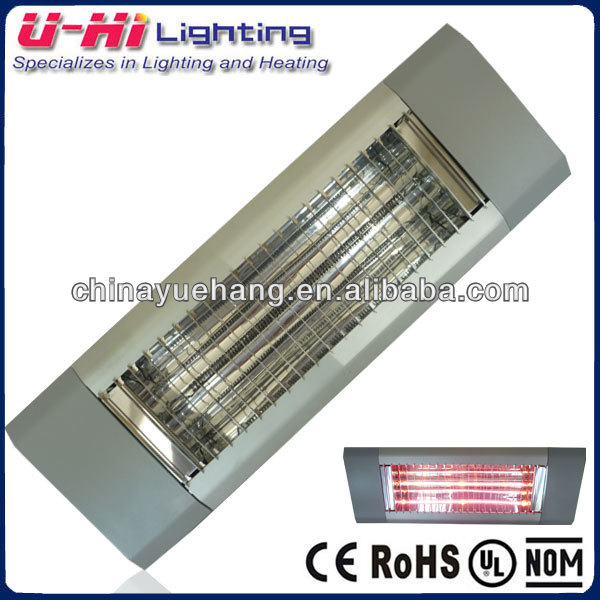 IP65 Infrared Radiant Patio Outdoor Electric Heater