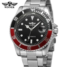 Luxury Hot T-Winner custom logo automatic men stainless steel watch