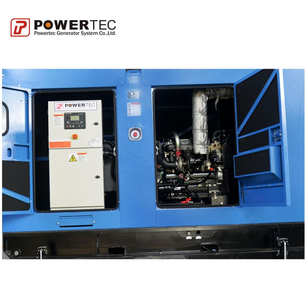 7kw--560kw Trailer Type Diesel Generator Set With Gobal Warranty