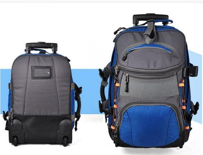 Detachable trolley luggage backpack made in China