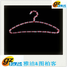 newly original design colorful pearl plastic hanger