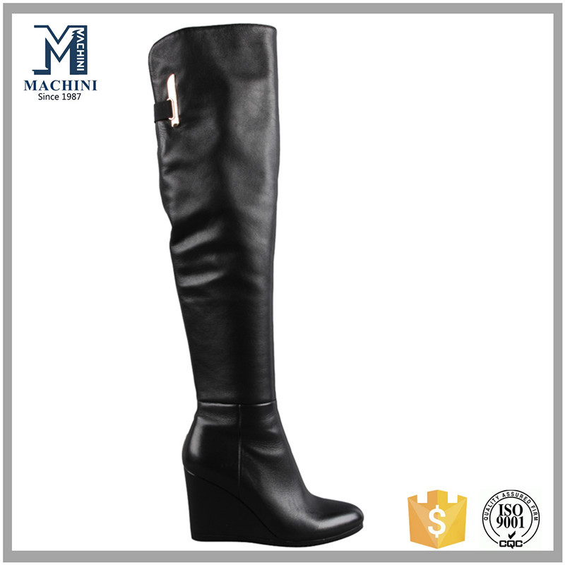 ladies high heel knee boots 2015 fashion winter boots