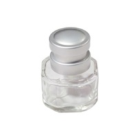 3 oz Transparent Round Glass Spray Bottles