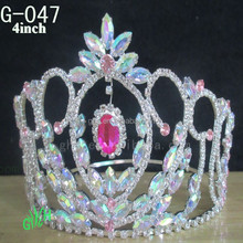 New wholesale fashion pageant custom new tiaras <strong>crowns</strong>
