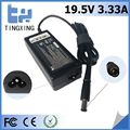 High quality cheap Laptop Adapter Tingxing brand for hp 19.5V3.33A65W Notebook charger 7.4*5.0MM