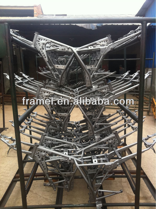100 CC motorcycle main frame