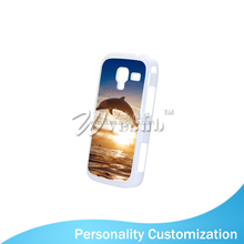 2015 HOT sale Sublimation 2D Plastic Case with Alu Printing Sheet for Samsung Galaxy ACE2 i8160