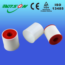 White Medical Zinc Oxide Adhesive Plaster tape for wound dressing and skin care
