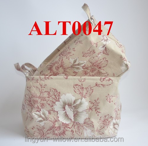cheap handmade canvas fabric large cloth bag for storage