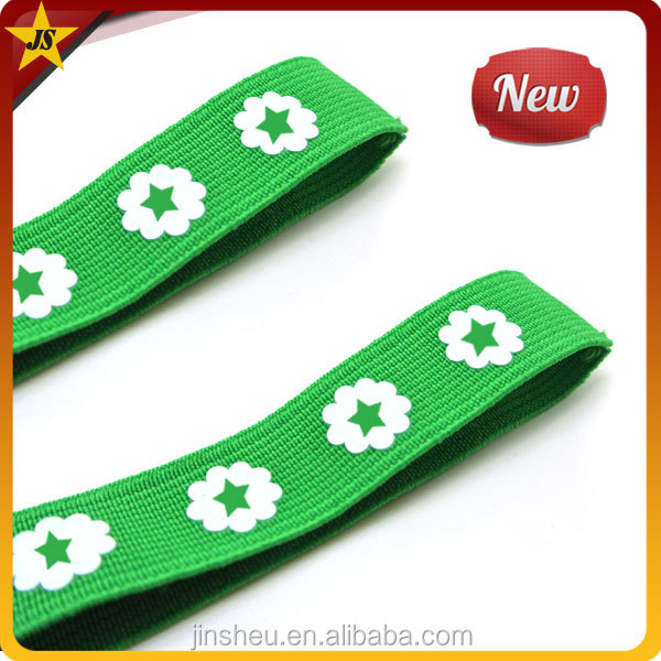Wholesale Cheap Custom Logo Elastic Strap Band Jacquard Elastic