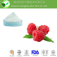 GMP/ISO/KOSHER certified White Fine Powder 99% Raspberry Ketone raspberry extract