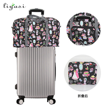 Latest Design Lightweight Foldable Storage Travel Luggage Sets Duffel Women Tote Waterproof Travel Bag.