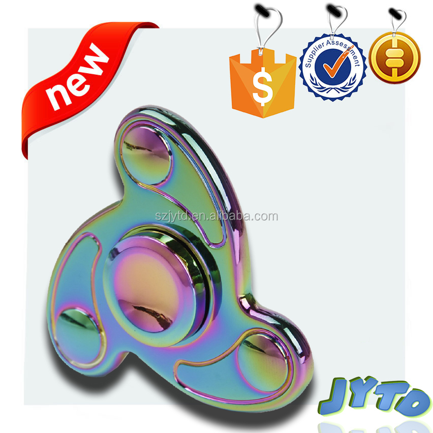 2017 New flying saucer finger spinner,hand spinner,fidget spinner with 608 ceramic bearing
