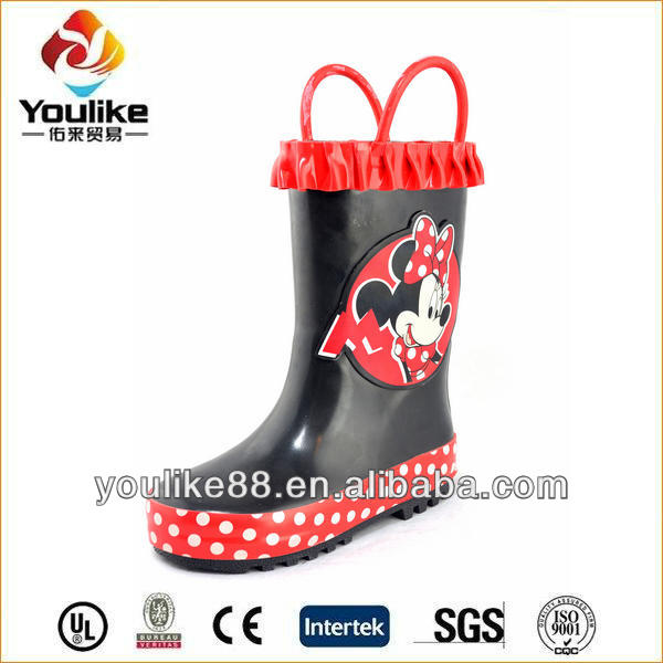 YL7202 Wholesale Cute Girls Wellies