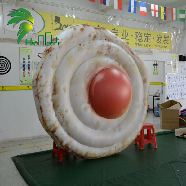 Giant Air Fried Eggs Model / Displaying Inflatable Fried Egg for Advertising Promotion