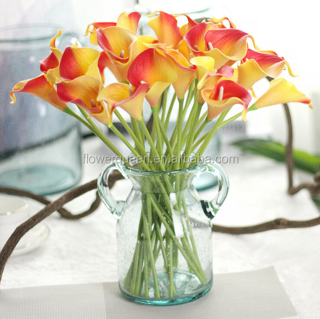 Real Touch Cala Lilly Artificial Flowers Fake Silk Buy Artificial Calla Lilies Online Artificial Calla Lilies Suppliers