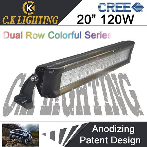 Super bright!!! 4x4 led light bar 120w led driving light bar waterproof bar led light