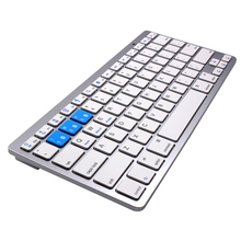 Factory ultra-thin bluetooth wireless keyboard for iphone/ipad/samsung/android/notebook/tablet pc