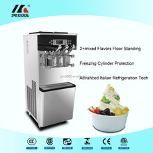 wholesale factory price 2+1mixed flavors soft ice cream machine for bars/ coffee stores