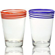 color solid color water glass