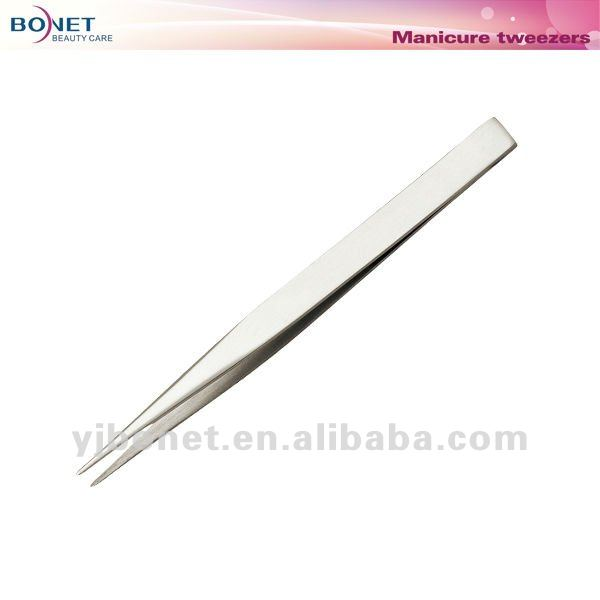 S12 FDA certificated All Stainless Steel Series pointed tip tweezer