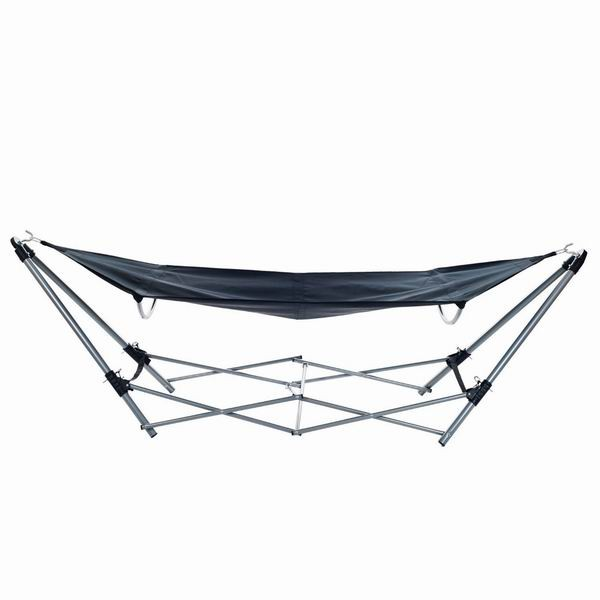 New design outdoor folding portable hammock with carry bag