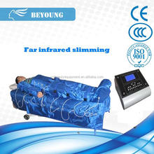 Professional 2 in 1 far infrared and air pressure pressotherapy slimming instrument