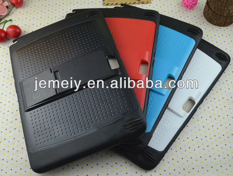 hard plastic case for samsung galaxy note 10.1,with stand