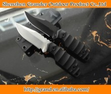 Black Dragon V Small straight knife D2 Blade outdoor rescue knife high hardness swiss knife 4319
