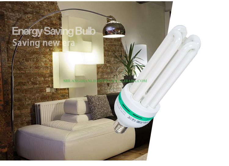 SD-4UD 4U 50w 80% real power 8000hrs PBT/PC plastic 4u energy saving lamp cfl