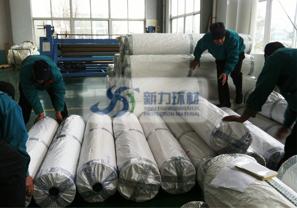polyester felt needl punched for cement plant