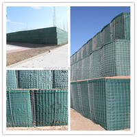 net fence wire mesh protection hesco barriers